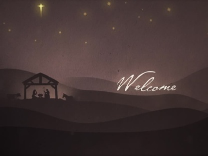 PAPER CRAFT NATIVITY WELCOME
