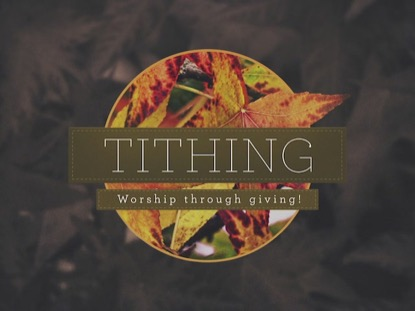 AUTUMN COLORS TITHING