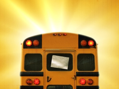 BACK TO SCHOOL BUS BLANK
