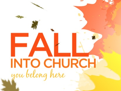 BIG PAINT LEAVES FALL INTO CHURCH