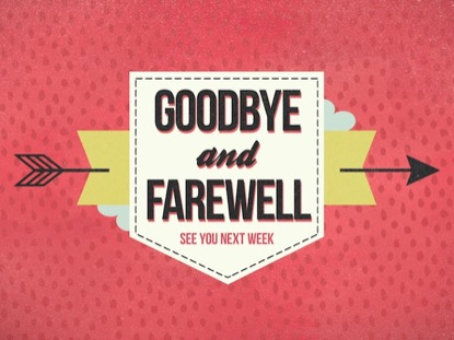 CUPIDS ARROW GOODBYE AND FAREWELL
