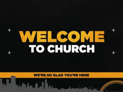 DARK CITY WELCOME TO CHURCH