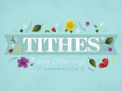 FLORAL MOTIF - TITHES AND OFFERINGS