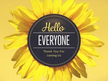 FLOWERS - HELLO EVERYONE