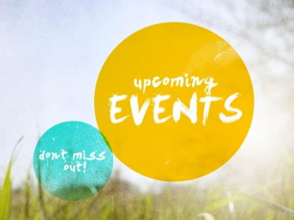 GEOMETRIC UPCOMING EVENTS