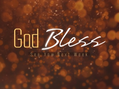 GOLDEN GOD BLESS BOKEH