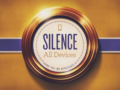 GOLDEN RINGS SILENCE ALL DEVICES