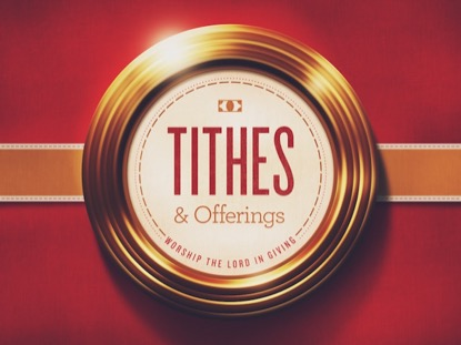 GOLDEN RINGS TITHES AND OFFERINGS