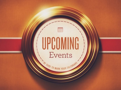 GOLDEN RINGS UPCOMING EVENTS