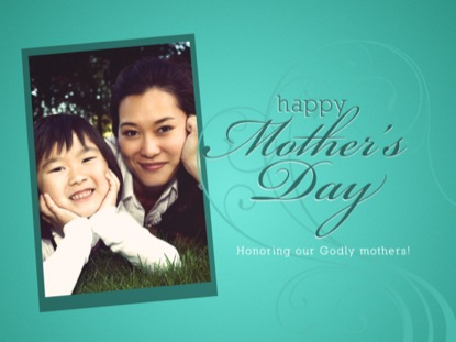 HAPPY MOTHER'S DAY HONORING