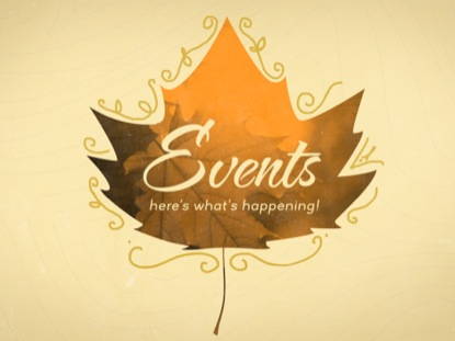 LEAF SILHOUETTES: EVENTS