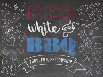RED WHITE AND BBQ LOOP