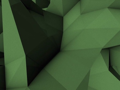 LOW POLY GREEN