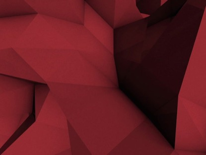 LOW POLY RED