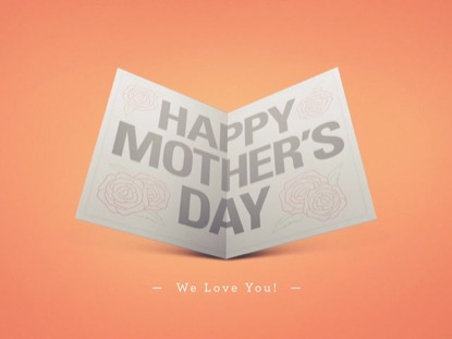 HAPPY MOTHER'S DAY CARD (CONTENT SPACE)