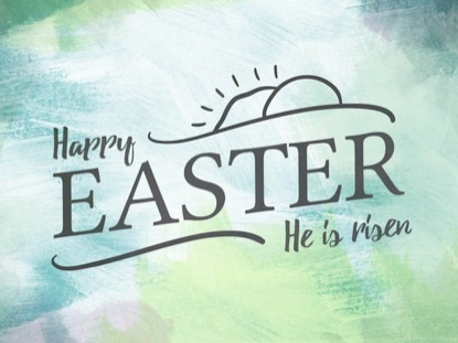 PAINTED PASTELS - HAPPY EASTER
