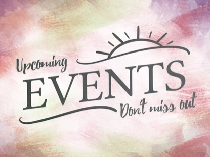 PAINTED PASTELS - UPCOMING EVENTS