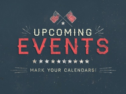 PATRIOTIC GRUNGE UPCOMING EVENTS