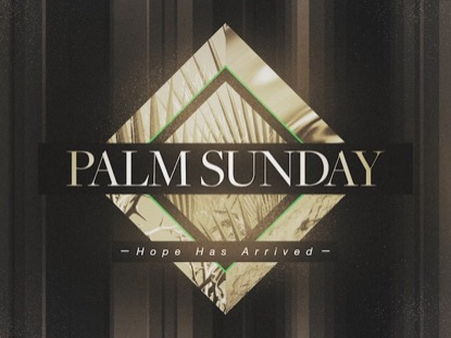 PHOTO DIAMOND: PALM SUNDAY