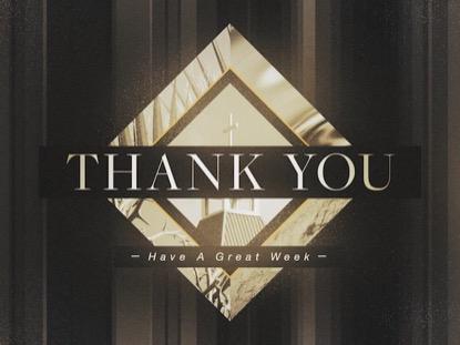 PHOTO DIAMOND: THANK YOU