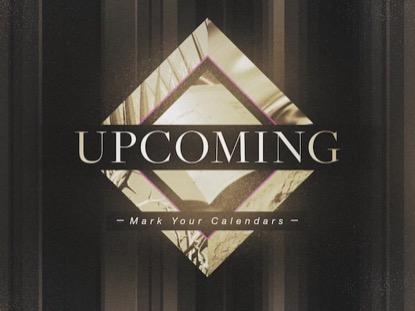 PHOTO DIAMOND: UPCOMING