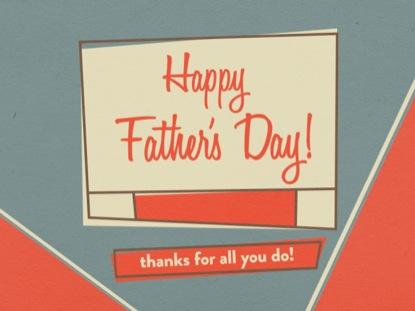 RETRO HAPPY FATHER'S DAY