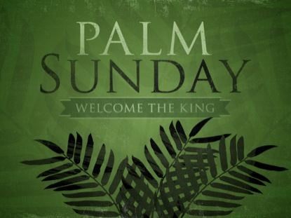 SILHOUETTE PALM SUNDAY