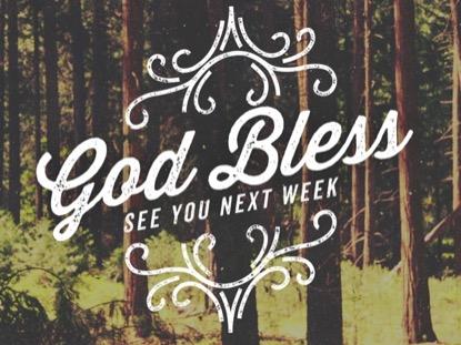 SPRING SWIRLS GOD BLESS