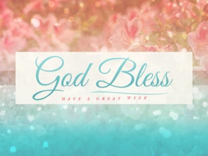 SPRINGTIME GOD BLESS
