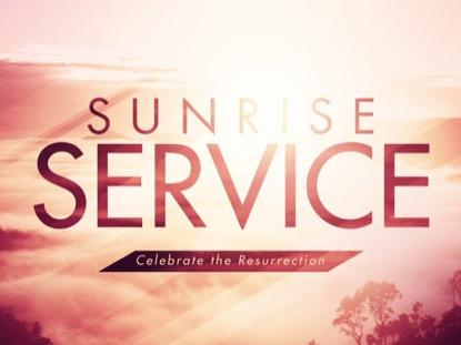 SUNRISE SERVICE: BLANK