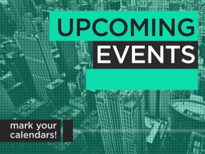 URBAN UPCOMING EVENTS