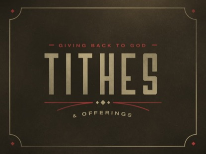 WESTERN LINES TITHES AND OFFERINGS