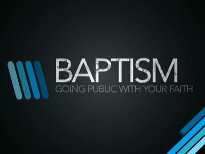 MODERN LINES BAPTISM