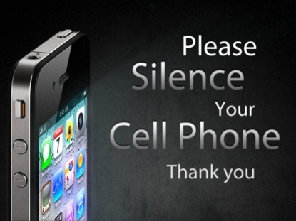 PLEASE SILENCE YOUR CELL PHONE 2