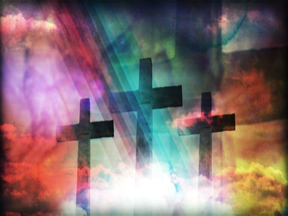 EASTER ATMOSPHERE: CROSSES