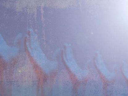 BLUE WORSHIP HANDS