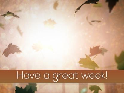 GREAT WEEK FALL