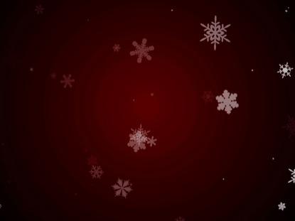 SNOWFALL LOOP RED