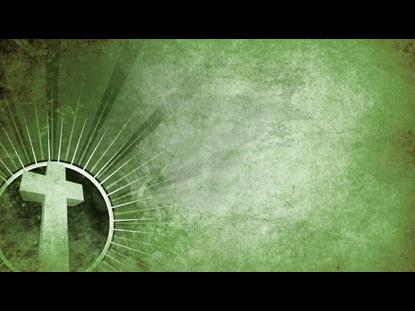 STARBURST PARCHMENT GREEN CROSS