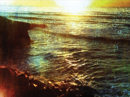 RUSTED CLIFF SUNSET 2