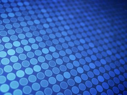 BLUE 3D DOTS