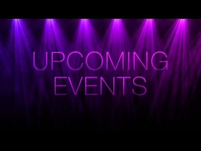 PENDULUM LIGHTS UPCOMING EVENTS