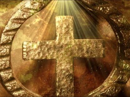 ANCIENT CROSS EASTER MOTION