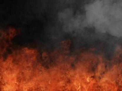 BIG FIRE AND SMOKE PENTECOST MOTION