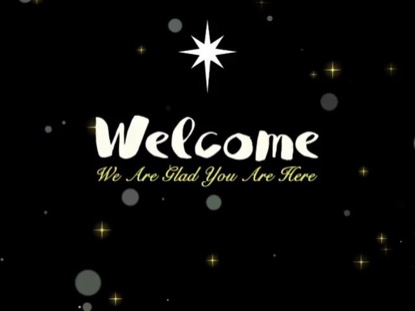 CHRISTMAS SEASON WELCOME TITLE