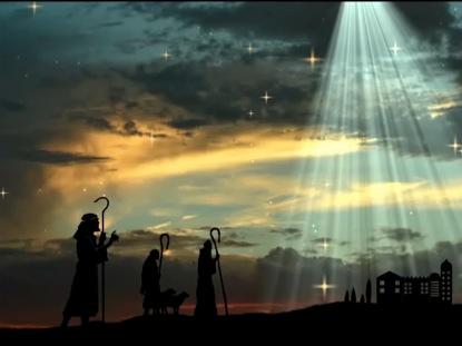 CHRISTMAS SHEPHERDS WORSHIP MOTION
