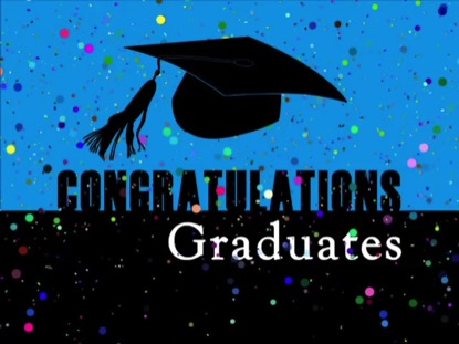 NEW CONGRATULATIONS GRADUATES BACKGROUND