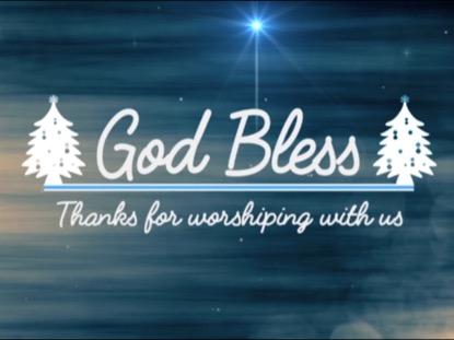 GOD BLESS CHRISTMAS MOTION