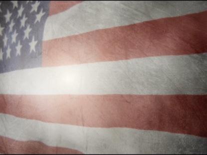 GRUNGE AMERICAN FLAG JULY FOURTH