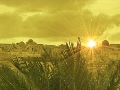 JESUS ENTERS JERUSALEM BACKGROUND